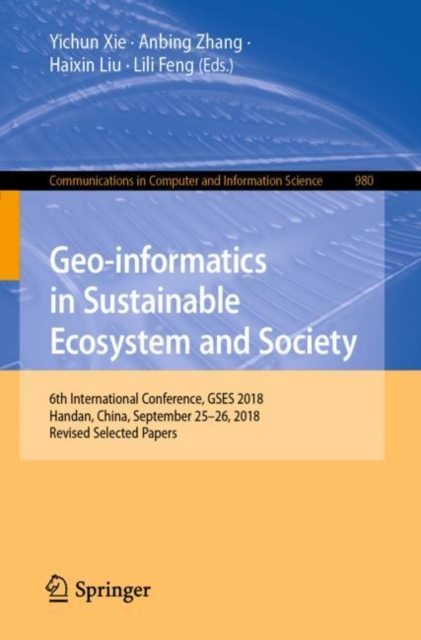 Geo-informatics in Sustainable Ecosystem and Society