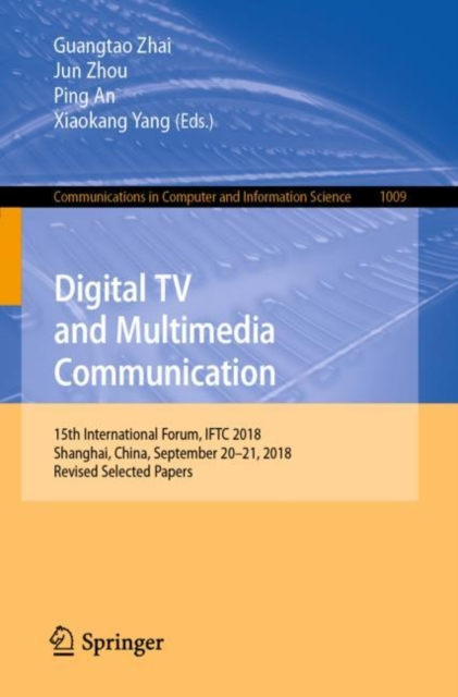 Digital TV and Multimedia Communication