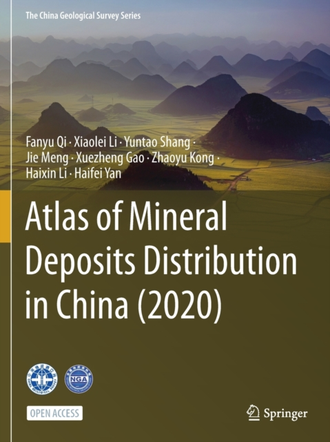 Atlas of Mineral Deposits Distribution in China (2020)