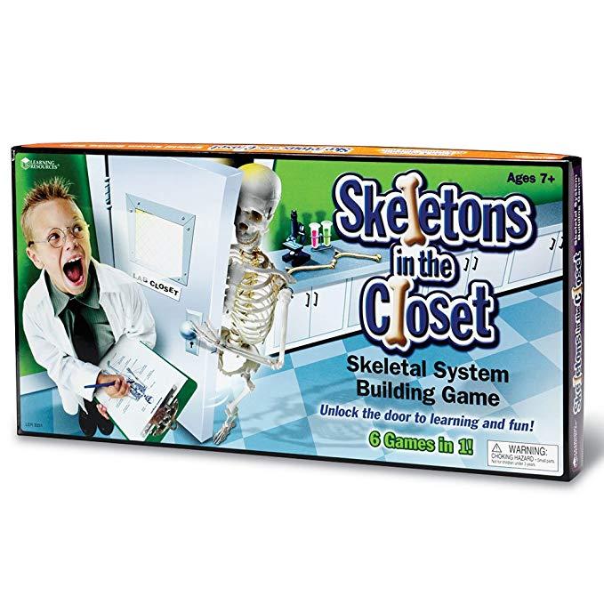 Joc anatomic Skeletons in the Closet